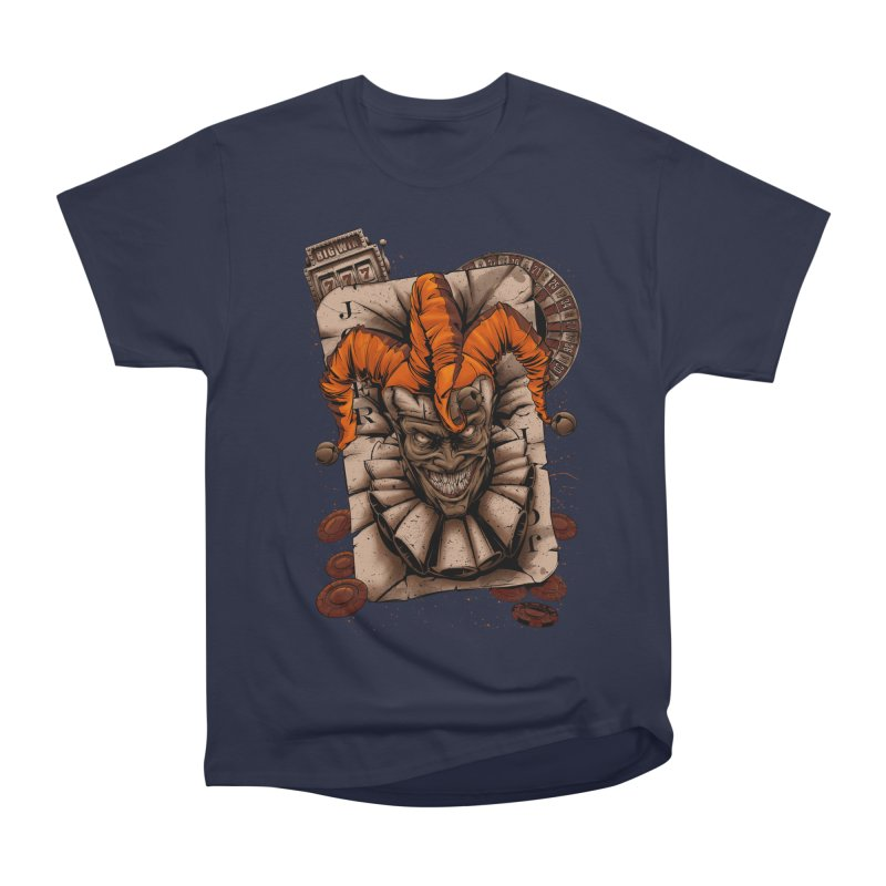 joker Men's Heavyweight T-Shirt by fishark's Artist Shop