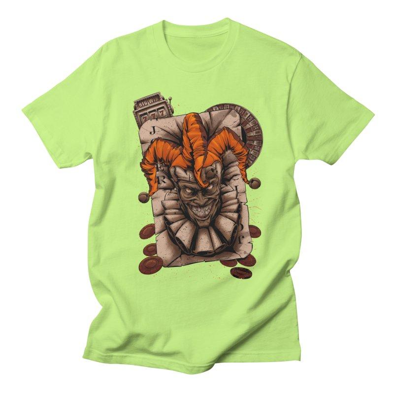 joker Women's Regular Unisex T-Shirt by fishark's Artist Shop