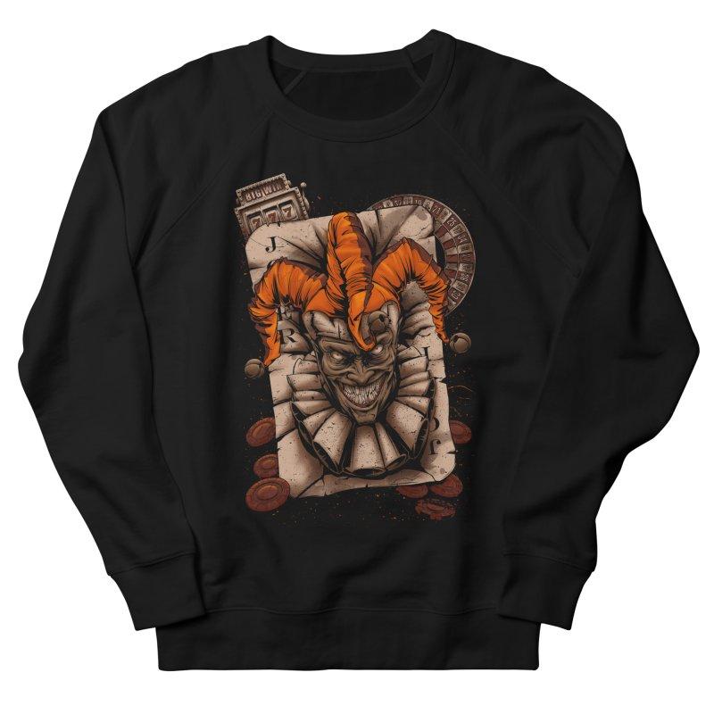 joker Women's French Terry Sweatshirt by fishark's Artist Shop