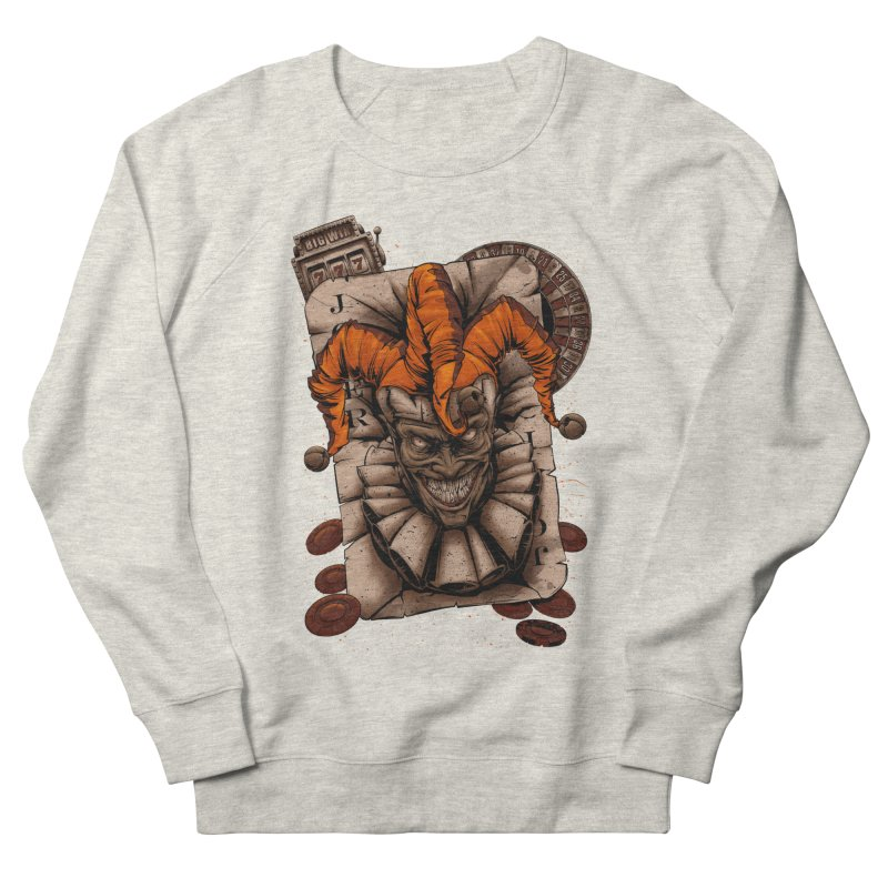 joker Women's French Terry Sweatshirt by fishark's Artist Shop