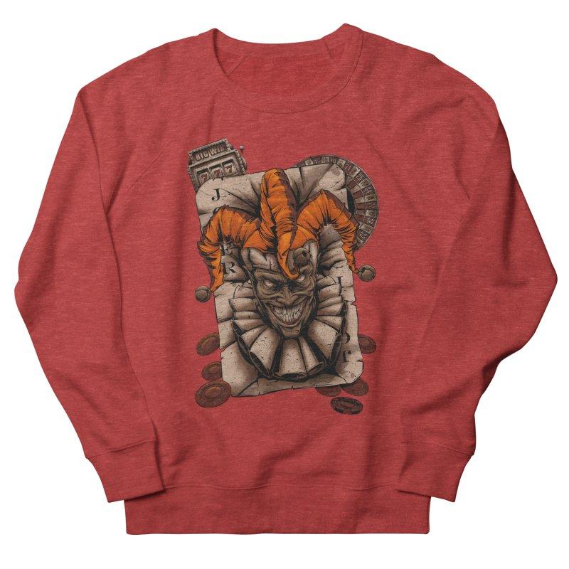 joker Men's French Terry Sweatshirt by fishark's Artist Shop