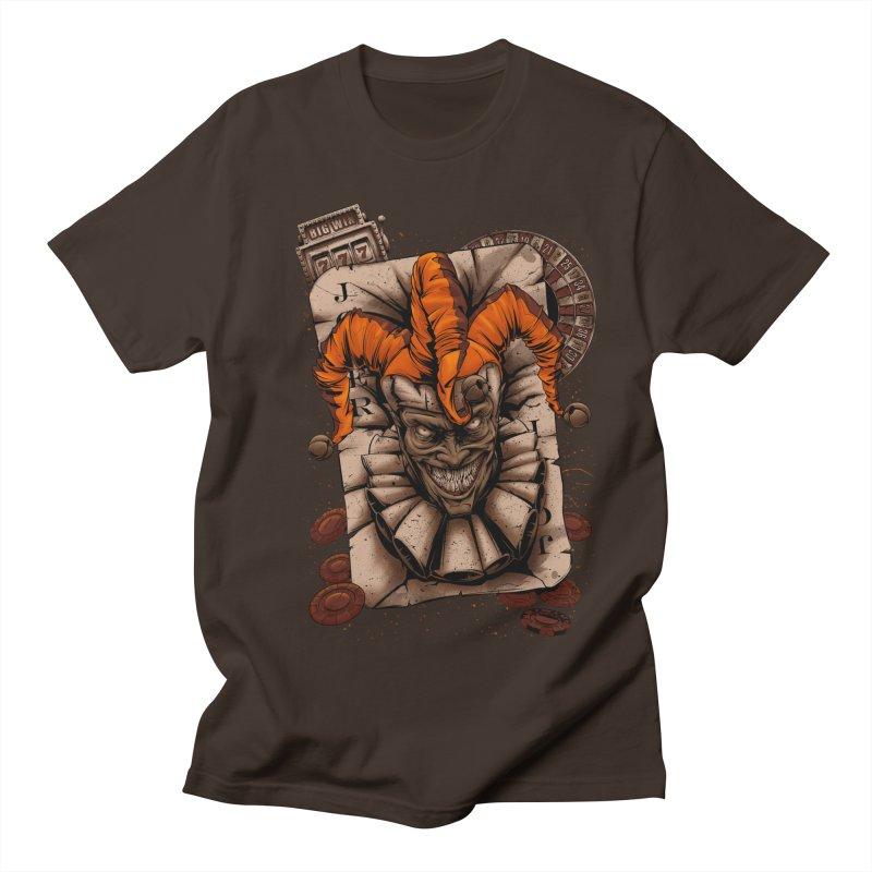 joker Men's Regular T-Shirt by fishark's Artist Shop