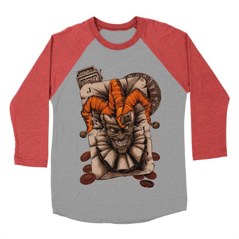joker Men's Baseball Triblend Longsleeve T-Shirt by fishark's Artist Shop