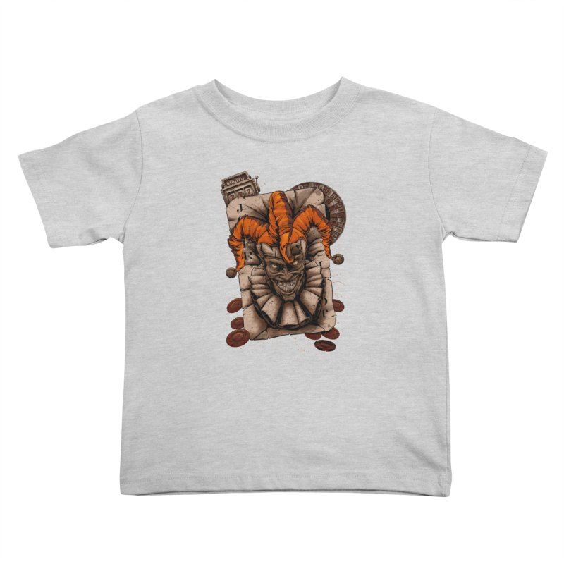 joker Kids Toddler T-Shirt by fishark's Artist Shop