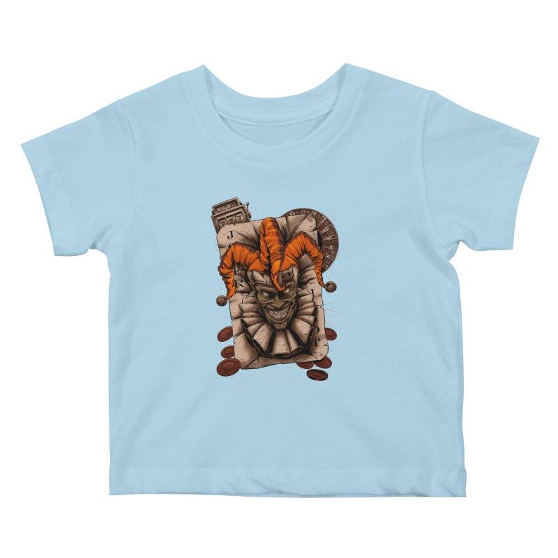 joker Kids Baby T-Shirt by fishark's Artist Shop