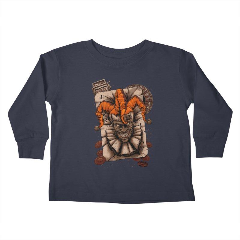 joker Kids Toddler Longsleeve T-Shirt by fishark's Artist Shop
