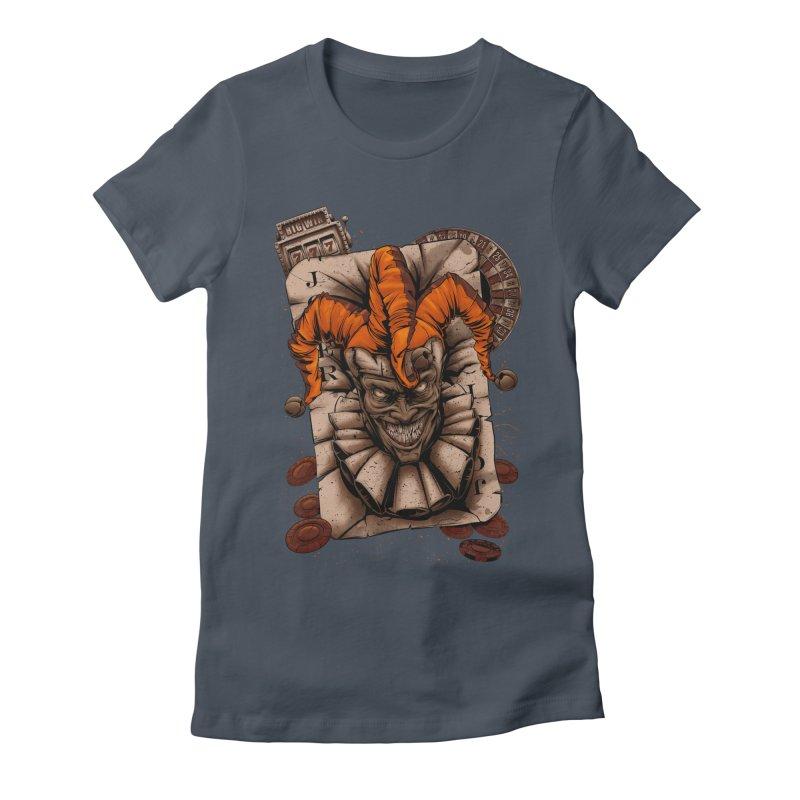 joker Women's T-Shirt by fishark's Artist Shop