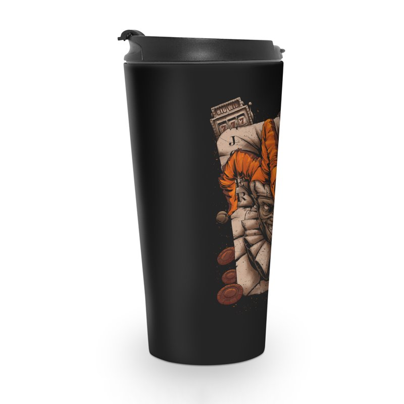 joker Accessories Travel Mug by fishark's Artist Shop