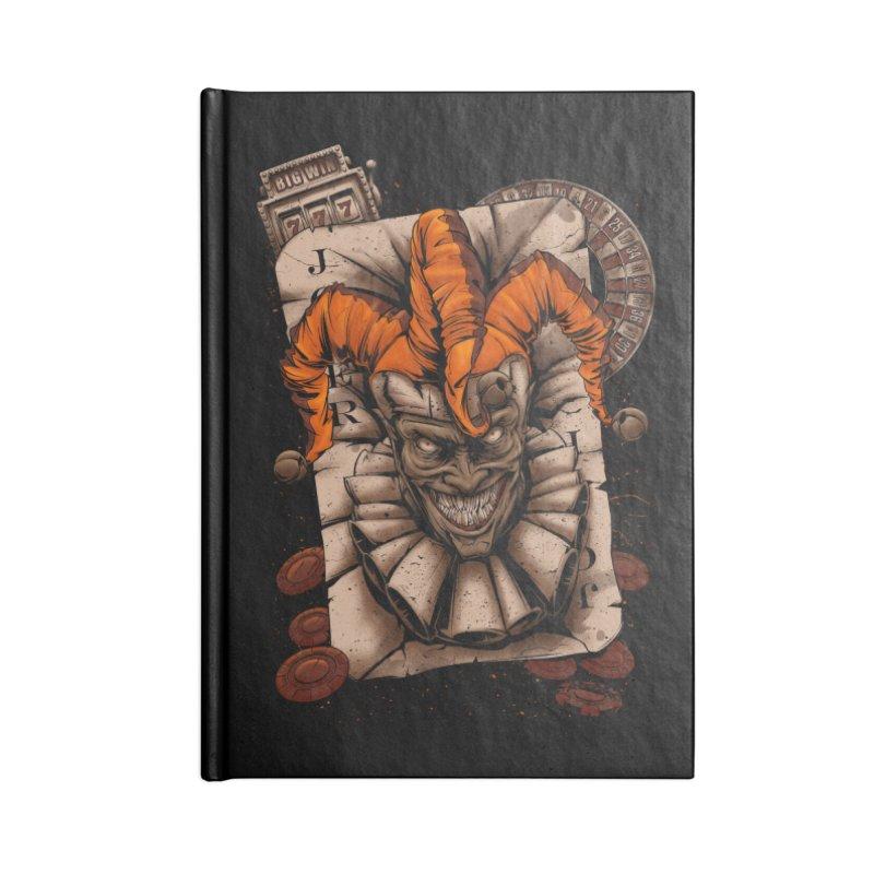 joker Accessories Lined Journal Notebook by fishark's Artist Shop