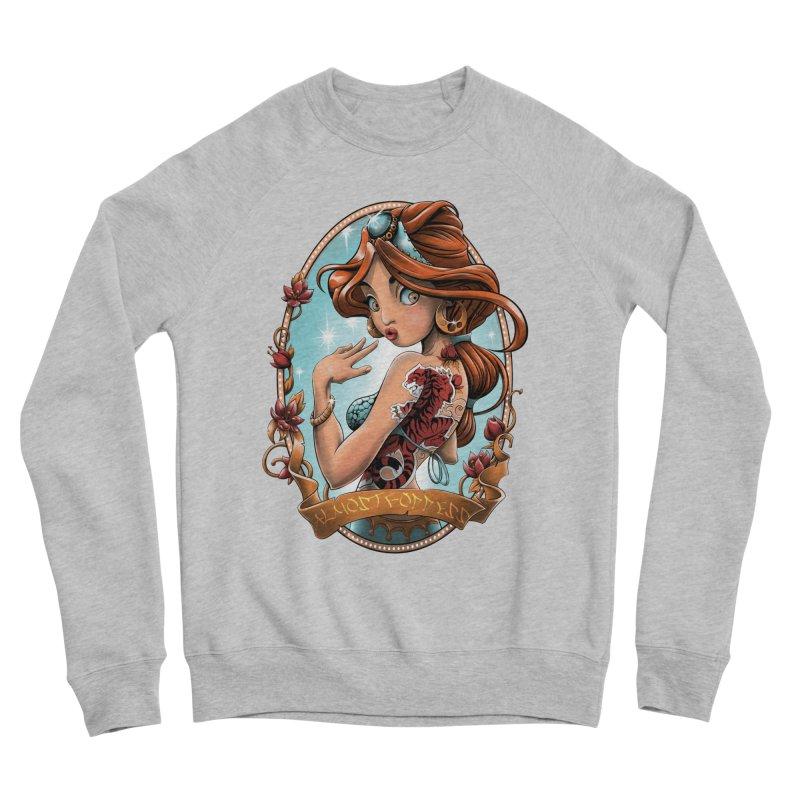 girl Men's Sponge Fleece Sweatshirt by fishark's Artist Shop