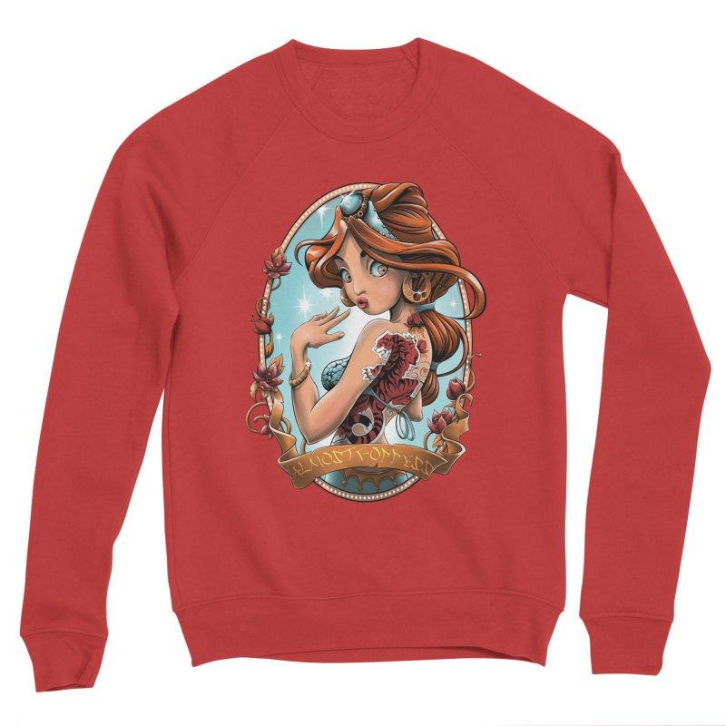 girl Women's Sponge Fleece Sweatshirt by fishark's Artist Shop