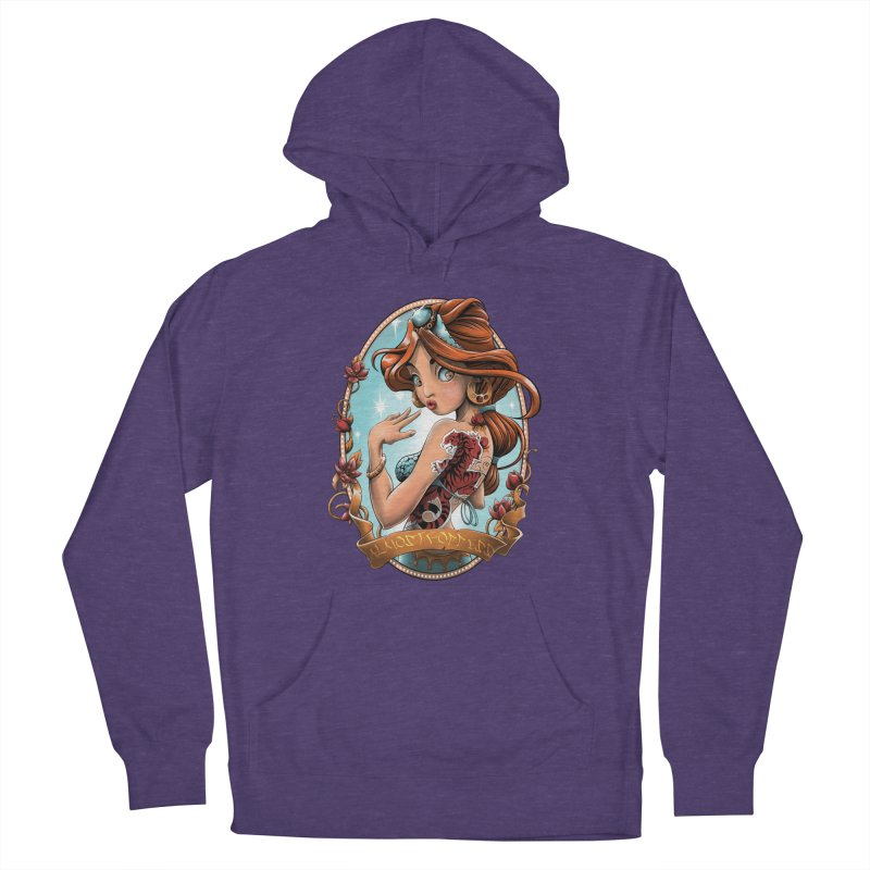 girl Women's Pullover Hoody by fishark's Artist Shop