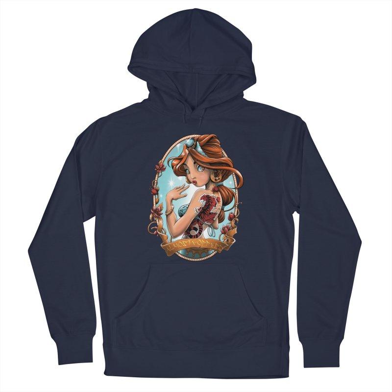 girl Men's Pullover Hoody by fishark's Artist Shop