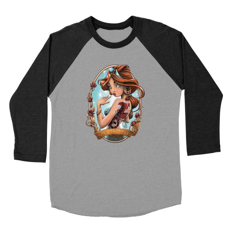 girl Women's Longsleeve T-Shirt by fishark's Artist Shop