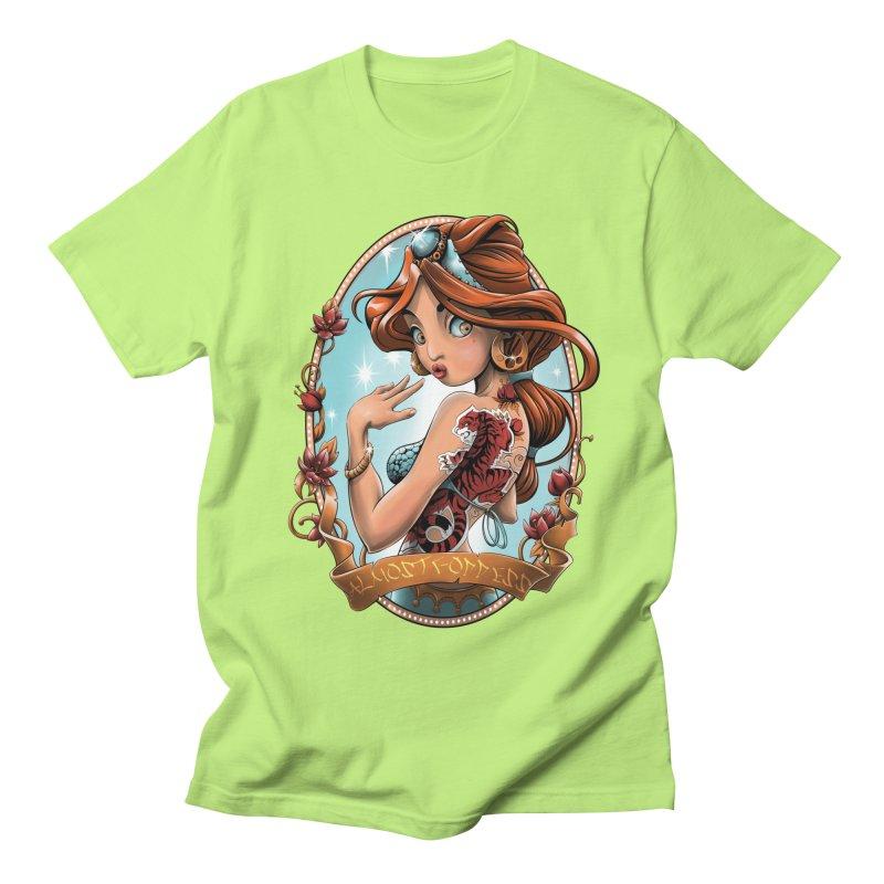 girl Men's Regular T-Shirt by fishark's Artist Shop