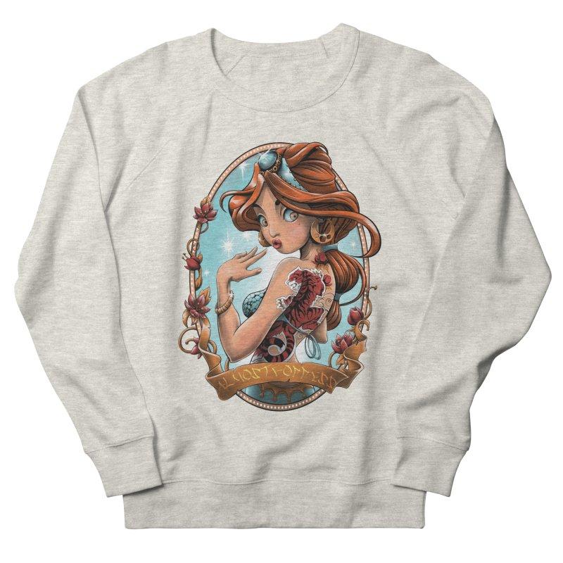 girl Men's Sweatshirt by fishark's Artist Shop