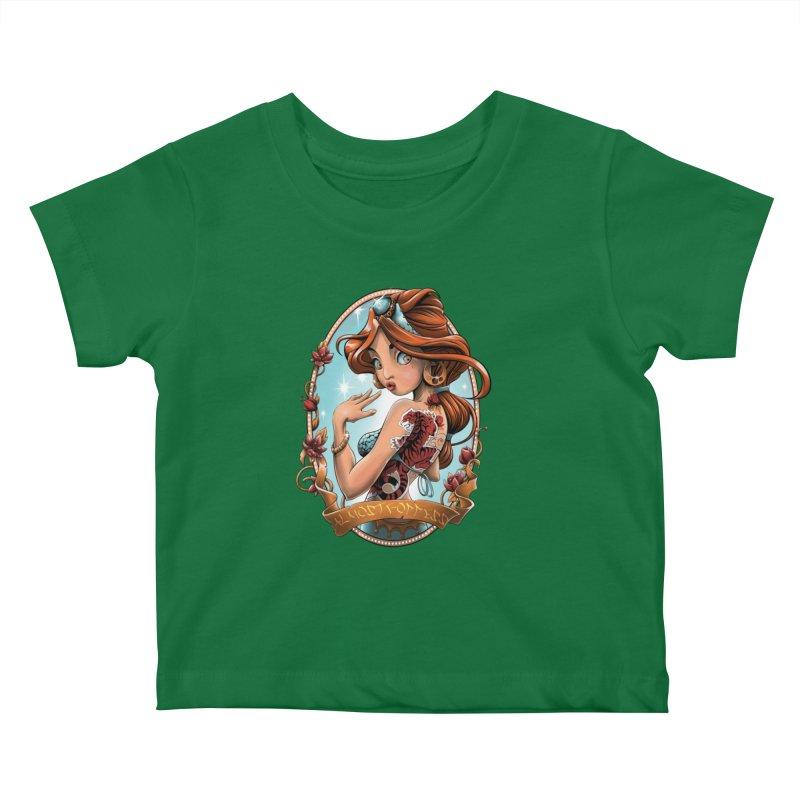 girl Kids Baby T-Shirt by fishark's Artist Shop