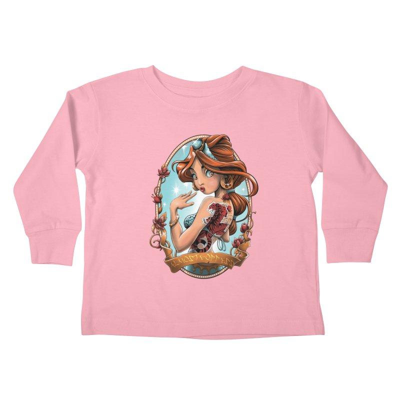 girl Kids Toddler Longsleeve T-Shirt by fishark's Artist Shop