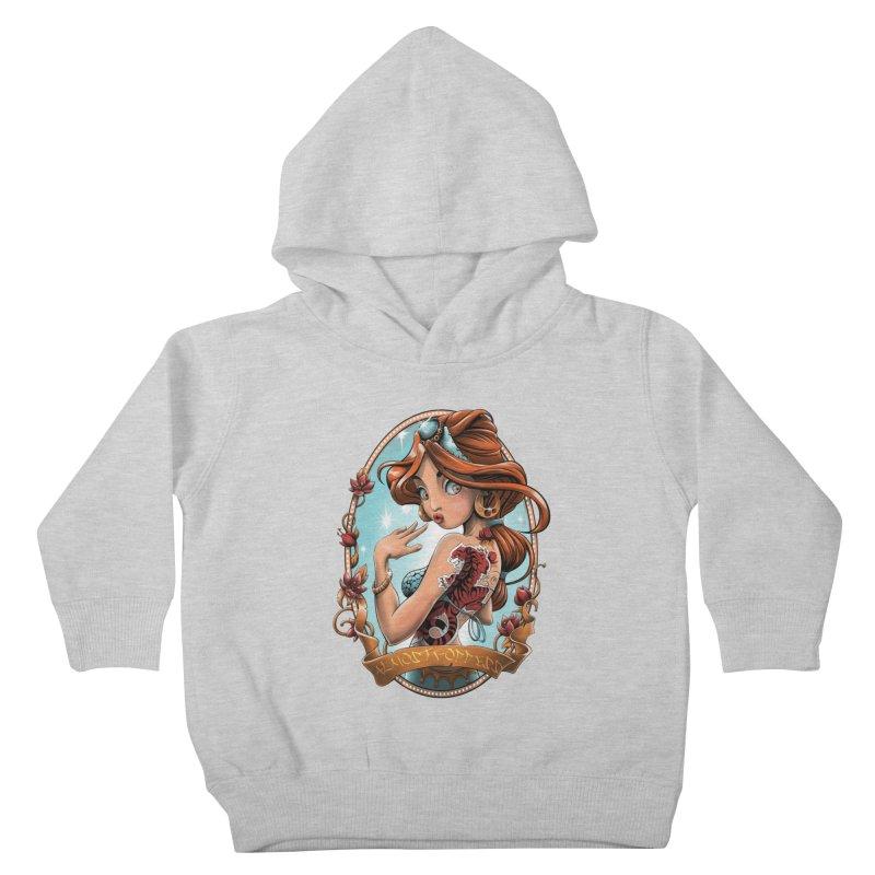 girl Kids Toddler Pullover Hoody by fishark's Artist Shop