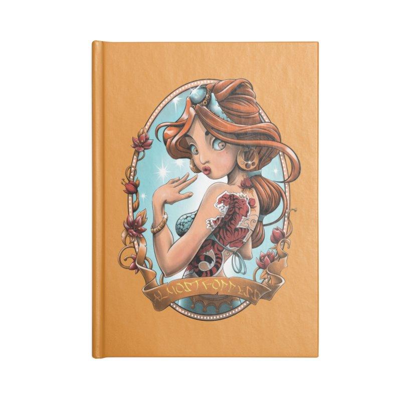 girl Accessories Lined Journal Notebook by fishark's Artist Shop