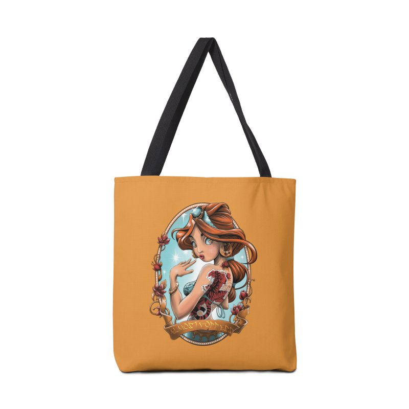 girl Accessories Tote Bag Bag by fishark's Artist Shop