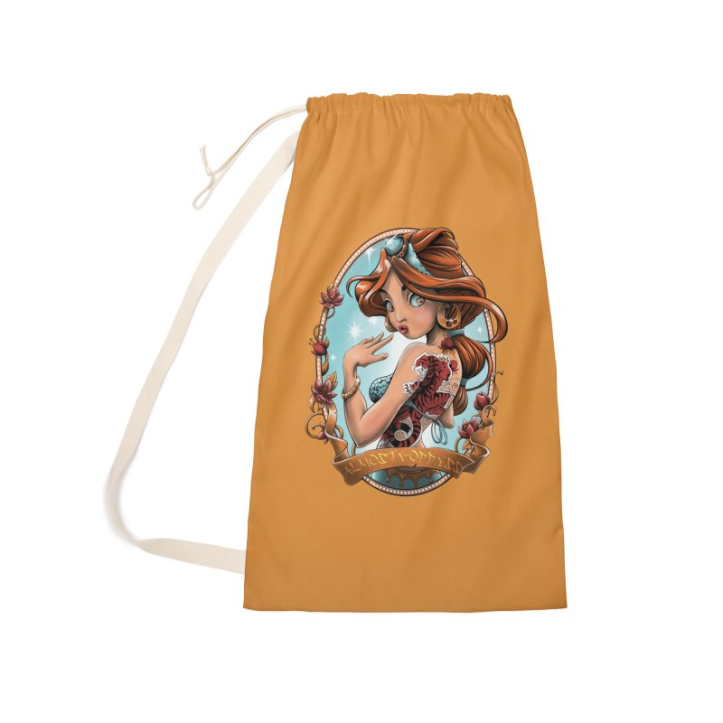 girl Accessories Laundry Bag Bag by fishark's Artist Shop