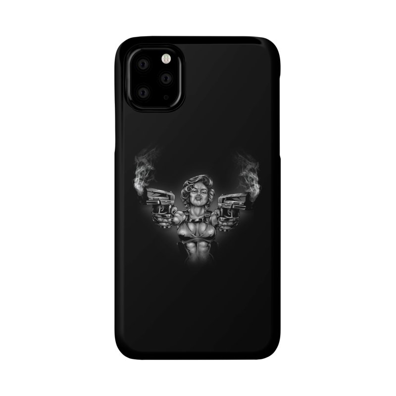 Monroe with guns Accessories Phone Case by fishark's Artist Shop