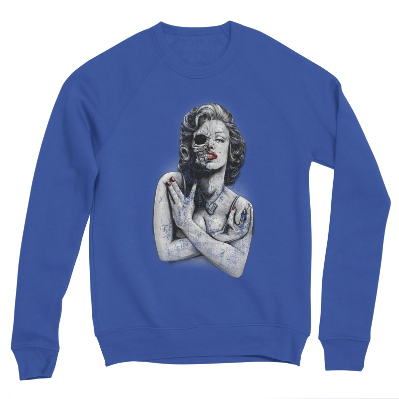 Monroe skull Men's Sweatshirt by fishark's Artist Shop