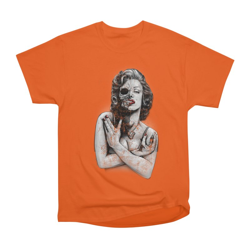 Monroe skull Women's T-Shirt by fishark's Artist Shop
