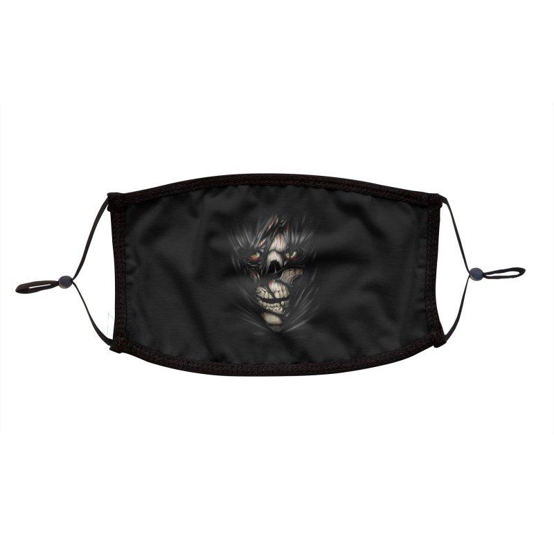 3D Skull Accessories Face Mask by fishark's Artist Shop