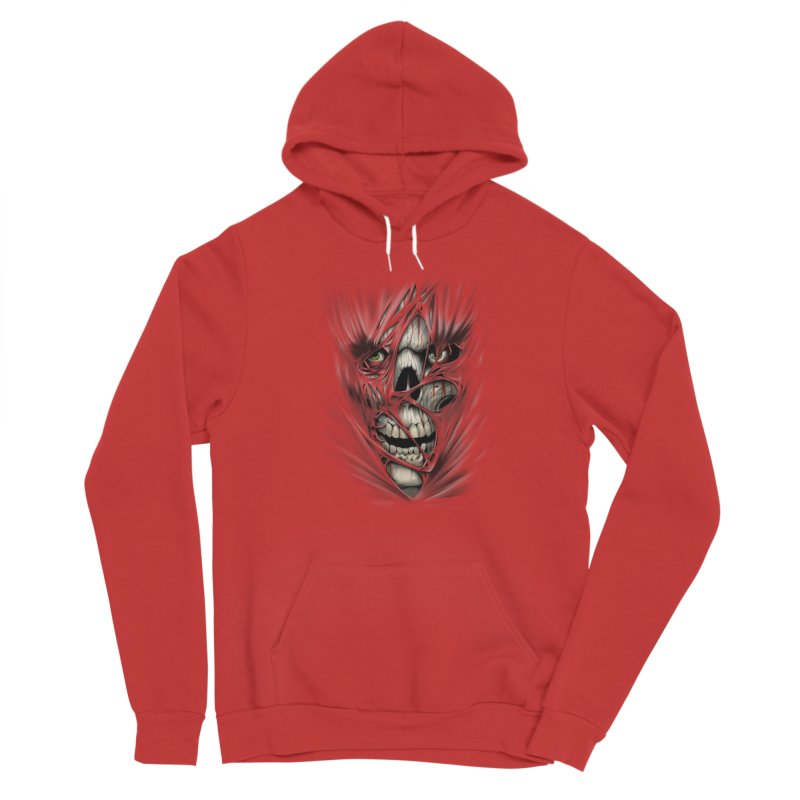 3D Skull Men's Pullover Hoody by fishark's Artist Shop