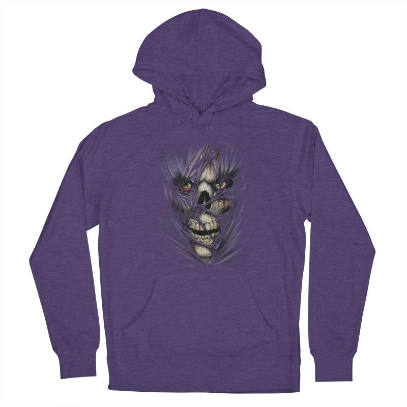 3D Skull Men's Pullover Hoody by fishark's Artist Shop