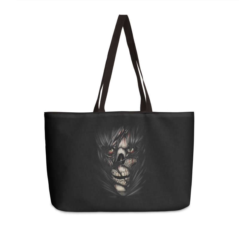 3D Skull Accessories Weekender Bag Bag by fishark's Artist Shop