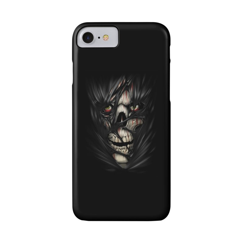 3D Skull Accessories Phone Case by fishark's Artist Shop