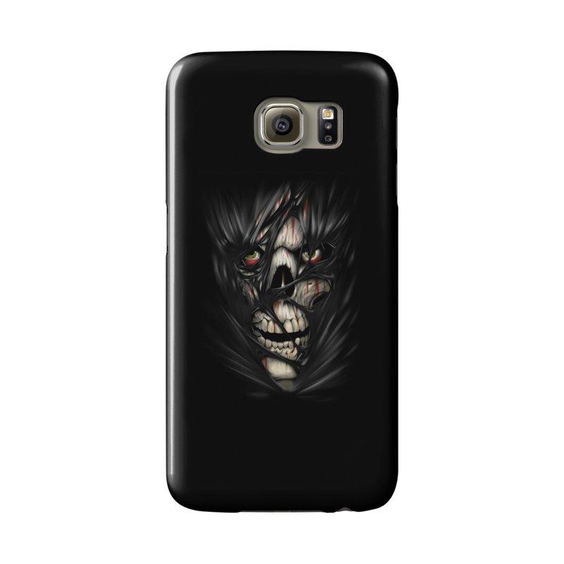 3D Skull Accessories Phone Case by fishark's Artist Shop