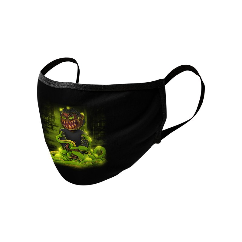 Toxic snakes Accessories Face Mask by fishark's Artist Shop