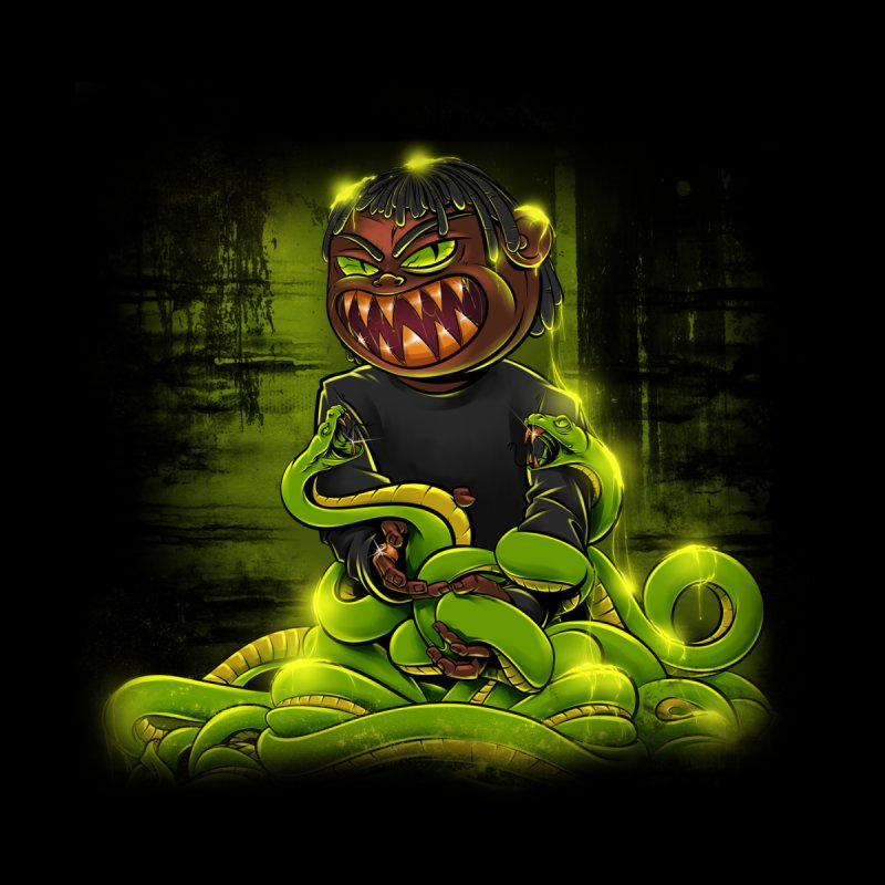 Toxic snakes by fishark's Artist Shop