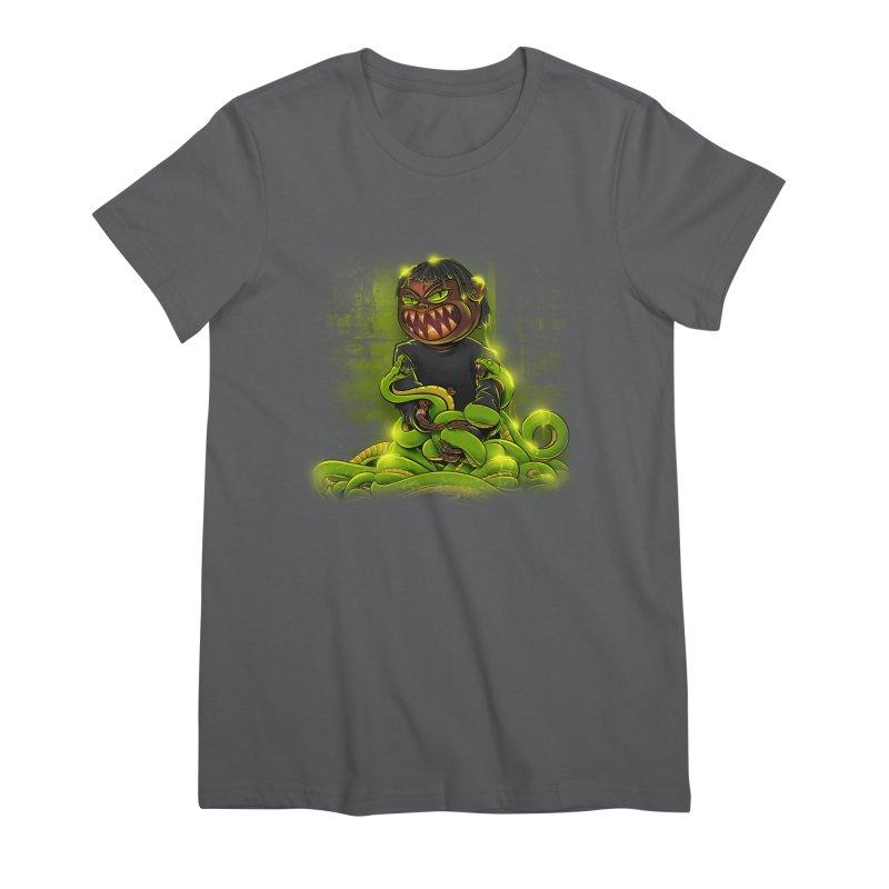 Toxic snakes Women's T-Shirt by fishark's Artist Shop