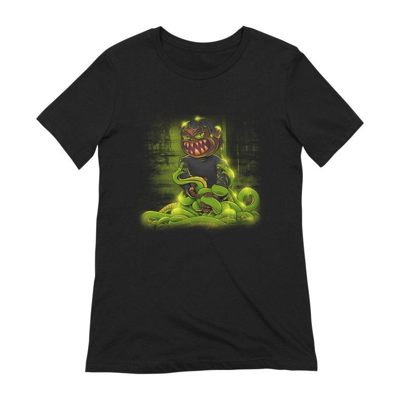 Toxic snakes Women's Extra Soft T-Shirt by fishark's Artist Shop
