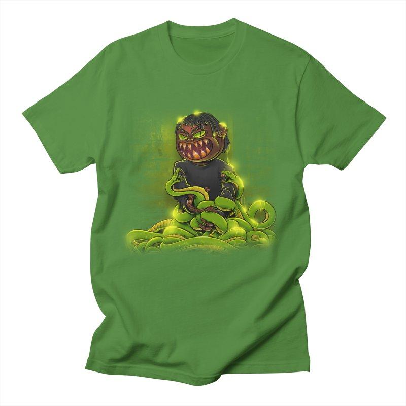 Toxic snakes Men's T-Shirt by fishark's Artist Shop