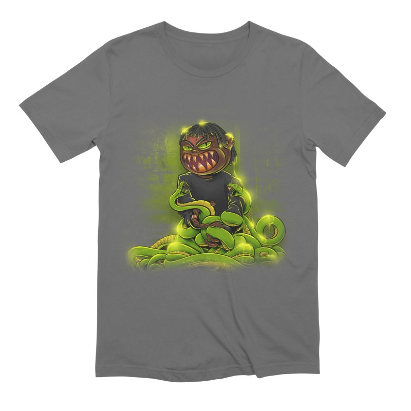 Toxic snakes Men's Extra Soft T-Shirt by fishark's Artist Shop