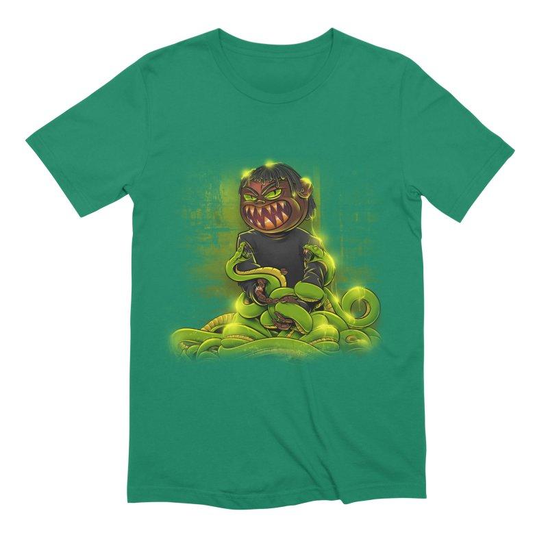 Toxic snakes Men's Extra Soft T-Shirt by fishark's Artist Shop
