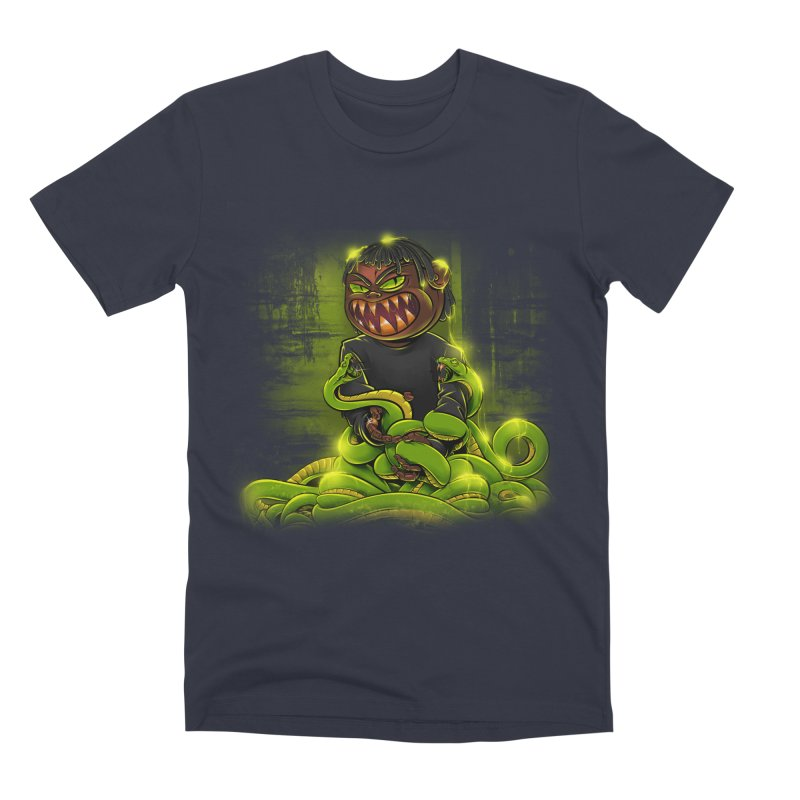 Toxic snakes Men's Premium T-Shirt by fishark's Artist Shop
