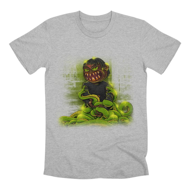 Toxic snakes Men's Premium T-Shirt by fishark's Artist Shop