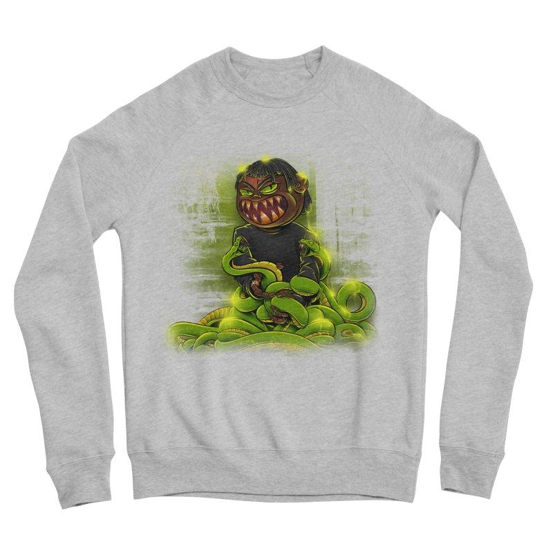 Toxic snakes Women's Sponge Fleece Sweatshirt by fishark's Artist Shop