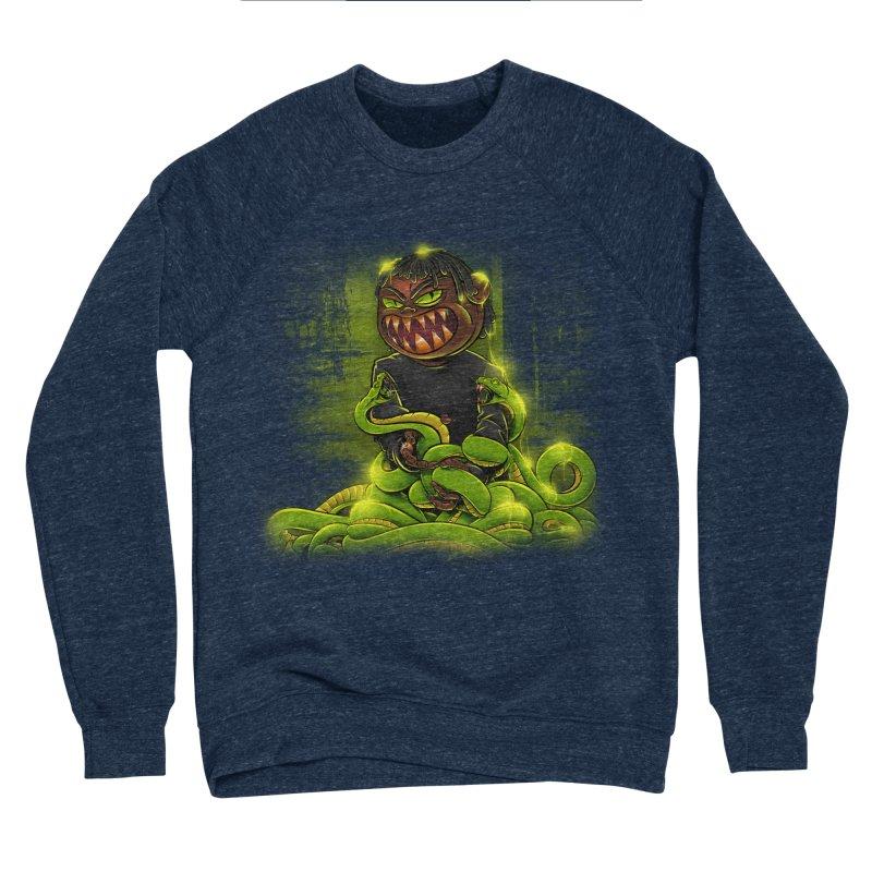 Toxic snakes Men's Sponge Fleece Sweatshirt by fishark's Artist Shop