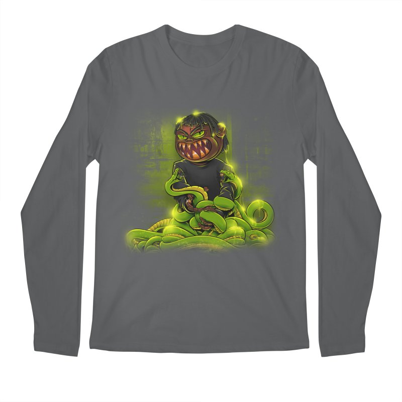 Toxic snakes Men's Longsleeve T-Shirt by fishark's Artist Shop