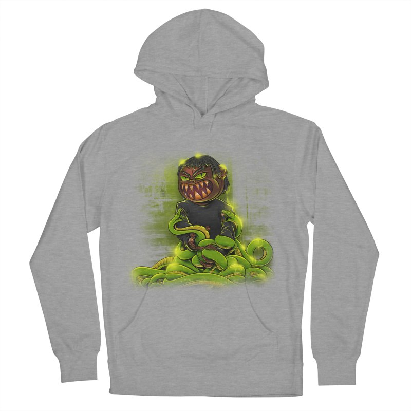 Toxic snakes Women's French Terry Pullover Hoody by fishark's Artist Shop