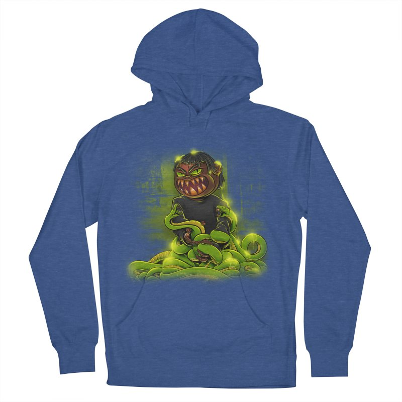 Toxic snakes Men's French Terry Pullover Hoody by fishark's Artist Shop