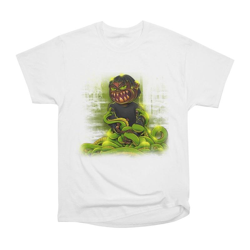 Toxic snakes Men's Heavyweight T-Shirt by fishark's Artist Shop